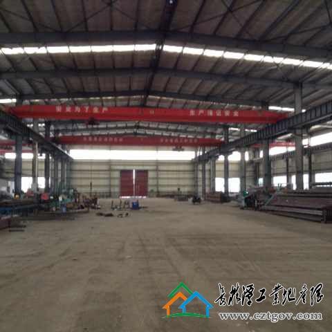 [岳阳]湖南湘阴工业园10000平米钢构厂房出租或出售